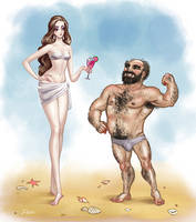 Eunuch and Man by Develv