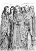 Byzantine court of eunuchs by Develv