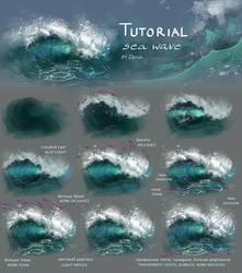 Sea wave tutorial