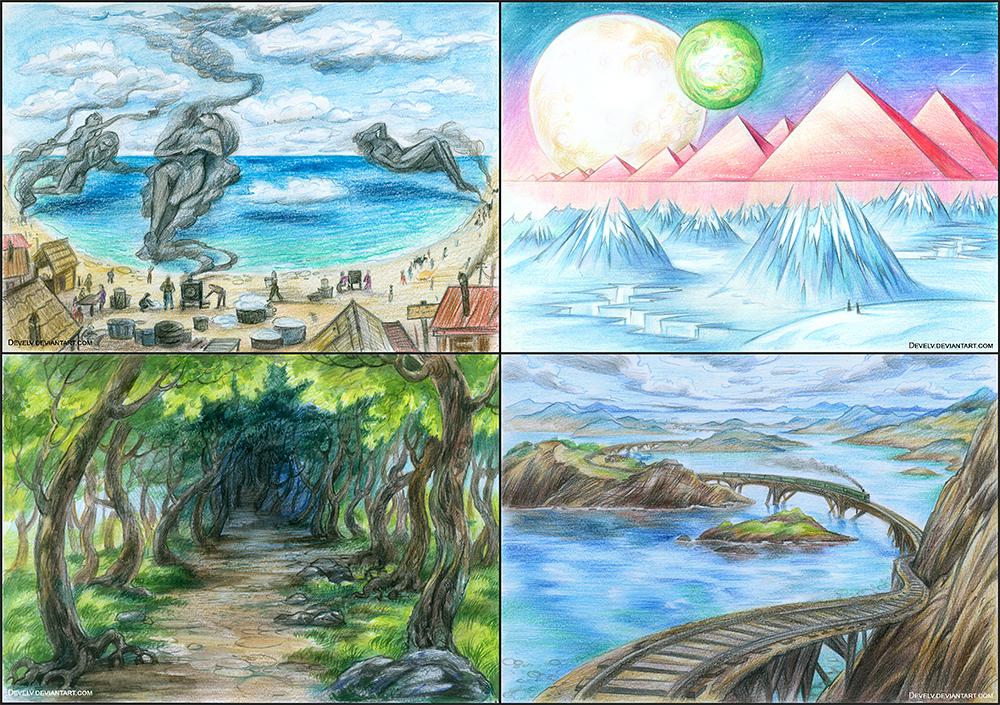 My nightdreams by Develv
