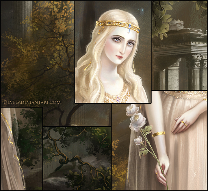 The white rose - details by Develv