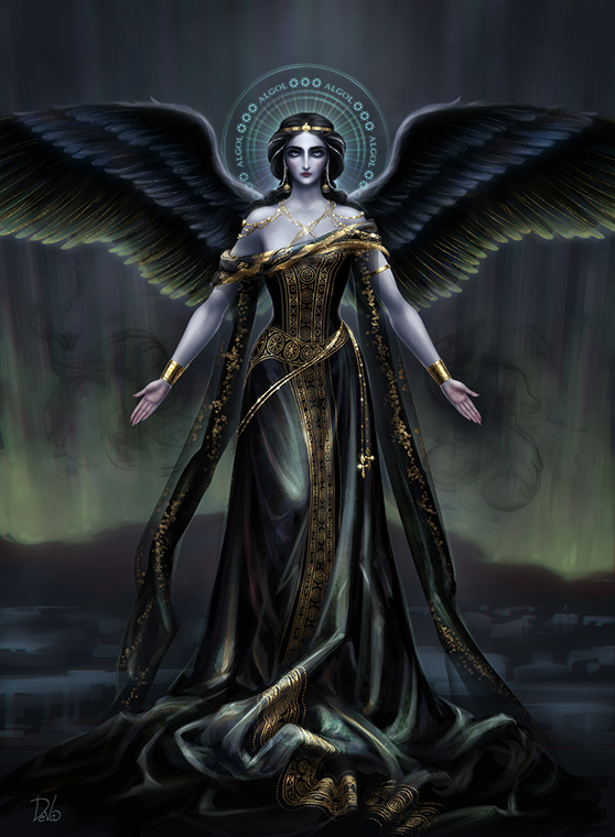 The angel Algol by Develv