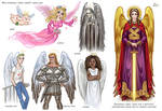 How correctly to depict angels?