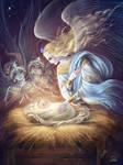 Jesus Christ with angels