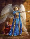 The prophet Daniel and St. Archangel Michael