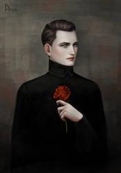 Rose-heart by Develv