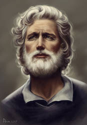 Old stylish man by Develv