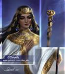 Egyptian eunuch priest - preview of new artwork!