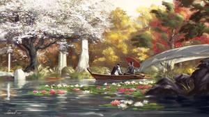 Zen Garden - autumn