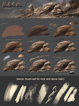 Rock tutorial - preview