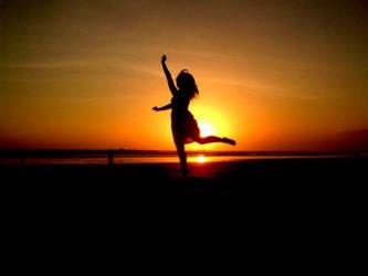 SUNSET DANCE by sallythesilliest