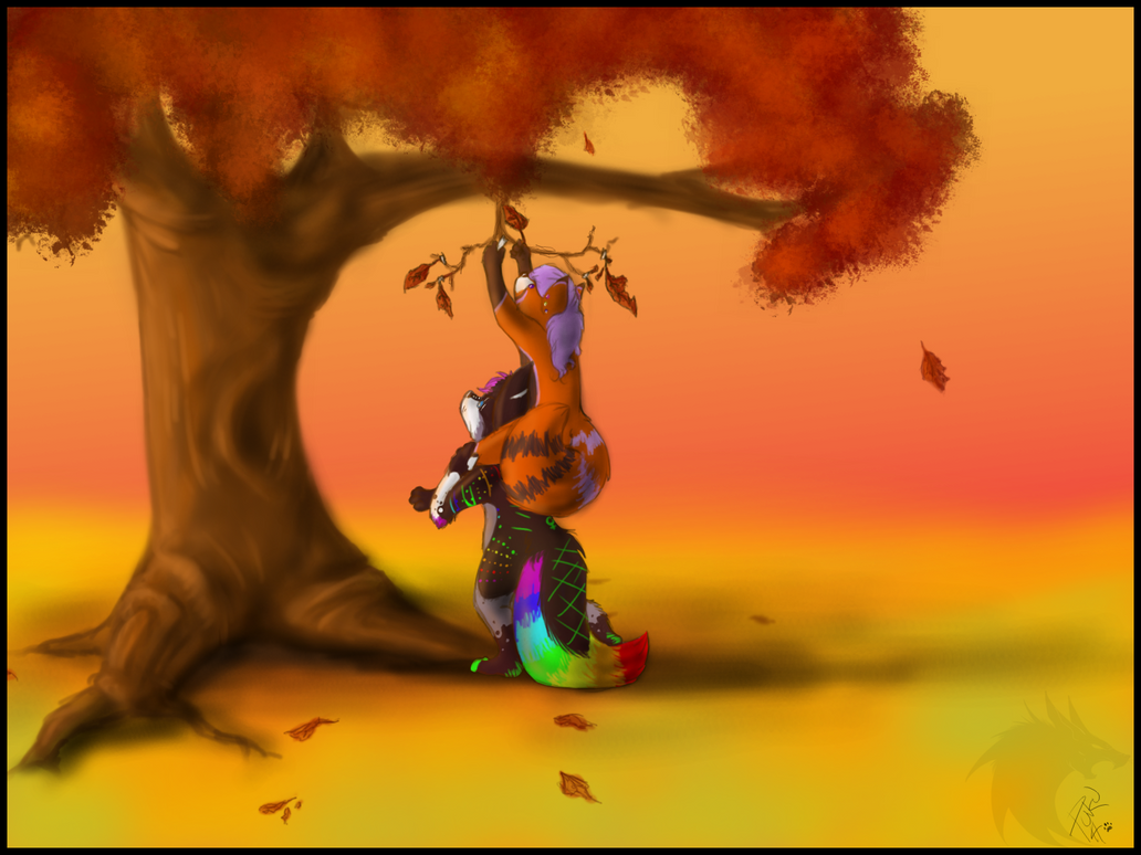 save the leaves by punkucats