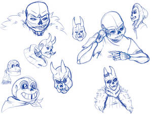Skelly Sketches