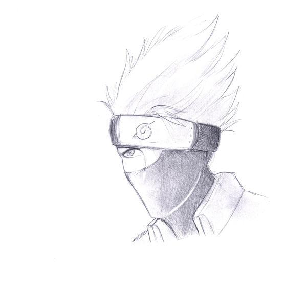 kakashi sketches - 600×561