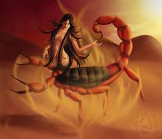 Scorpion by Vimeddiee