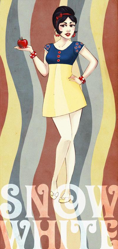 DPP: Retro Snow White by Vimeddiee