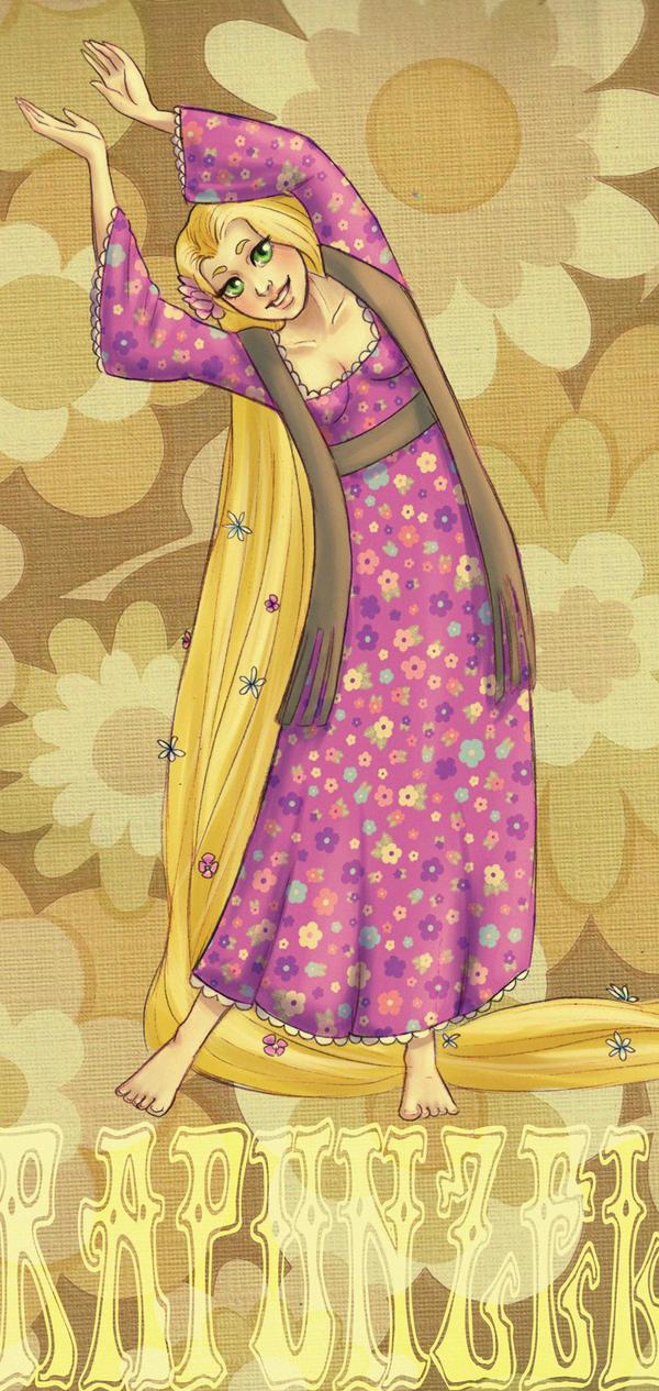 DPP: Retro Rapunzel by Vimeddiee