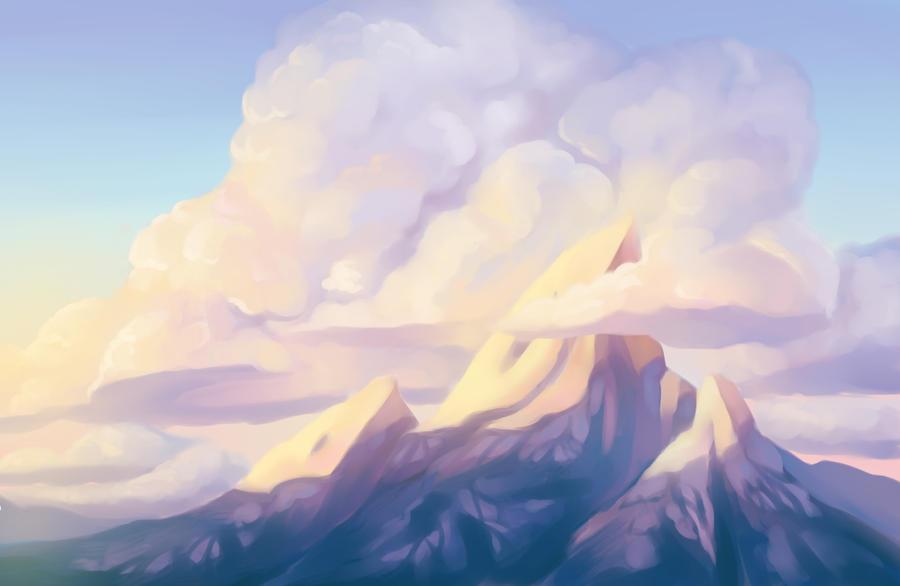Schoolism Clouds by Vimeddiee