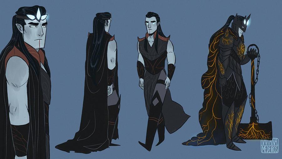 Morgoth by Vimeddiee