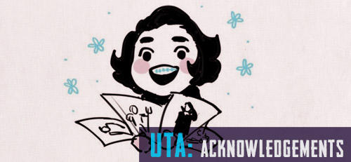 Under The Aegis - Acknowledgements