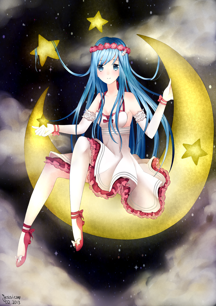 commission: Luna by tofu-fairy