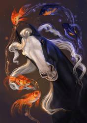 Hidalgo (Shiny fish) by Almatea-Art
