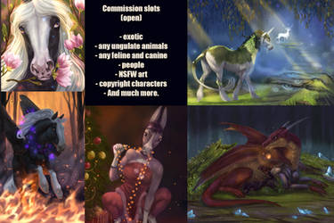 comission (open)