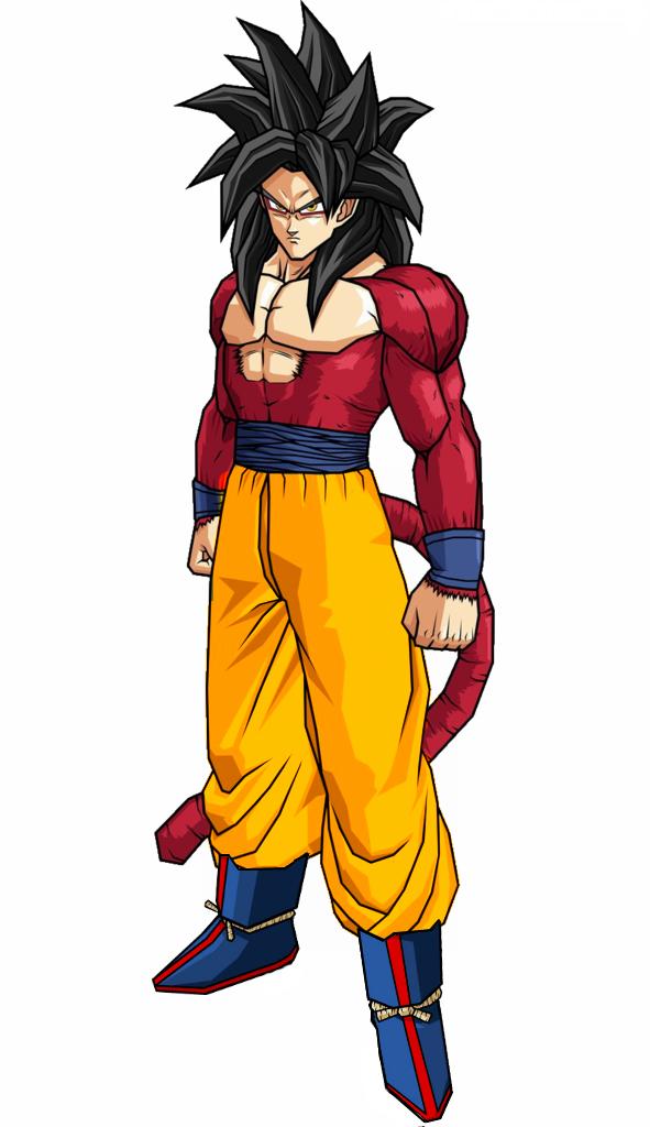 Super Saiyan 4 Goku Dragon Ball Z Gi By GenkiDamaXL