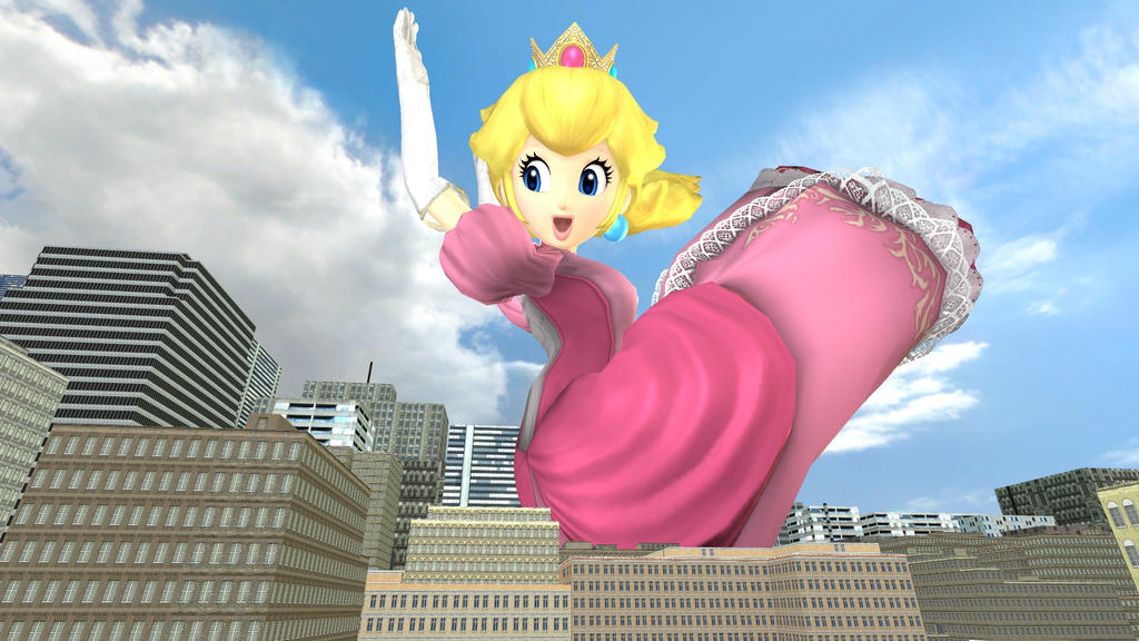 Giant Princess Peach Growing Pictures To Pin On Pinterest