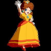 Princess Daisy saying hi to everyone - Redux