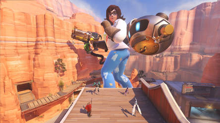 Mei - Is she too big in Route 66?