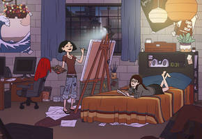 Daria - College Life by eve-bolt