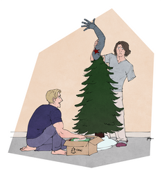 Setting up the tree