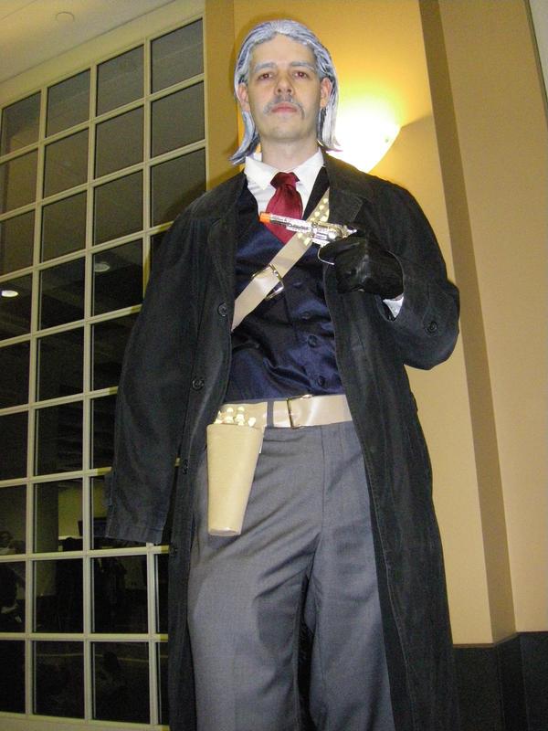 Revolver ocelot cosplay - photo#2