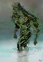The Swamp Thing by andretapol
