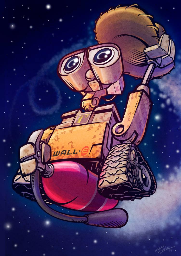 Wall-E by andretapol