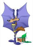 Bat-Wile E. Coyote