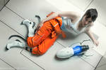 Chell - Portal cosplay