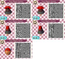 Animal Crossing Team Magma uniform (Pokemon R/S/E) by GrapeYouInTheMouth