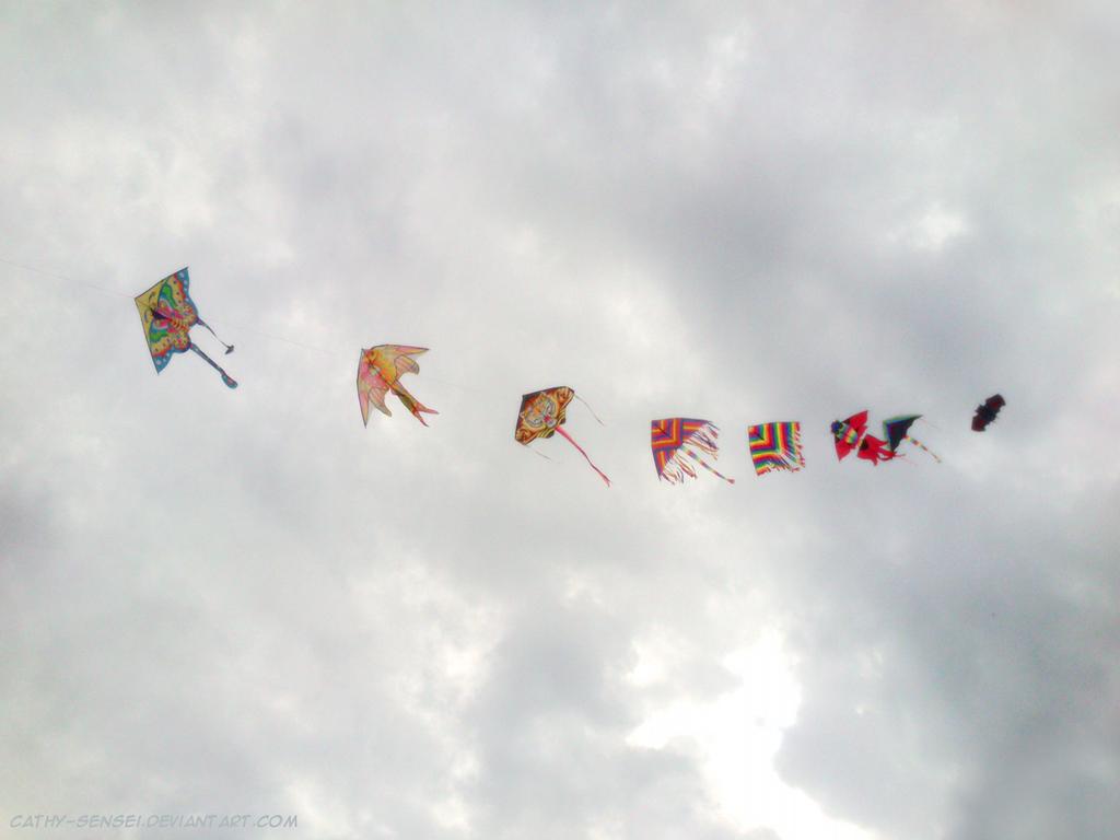 Kites by Cathy-sensei