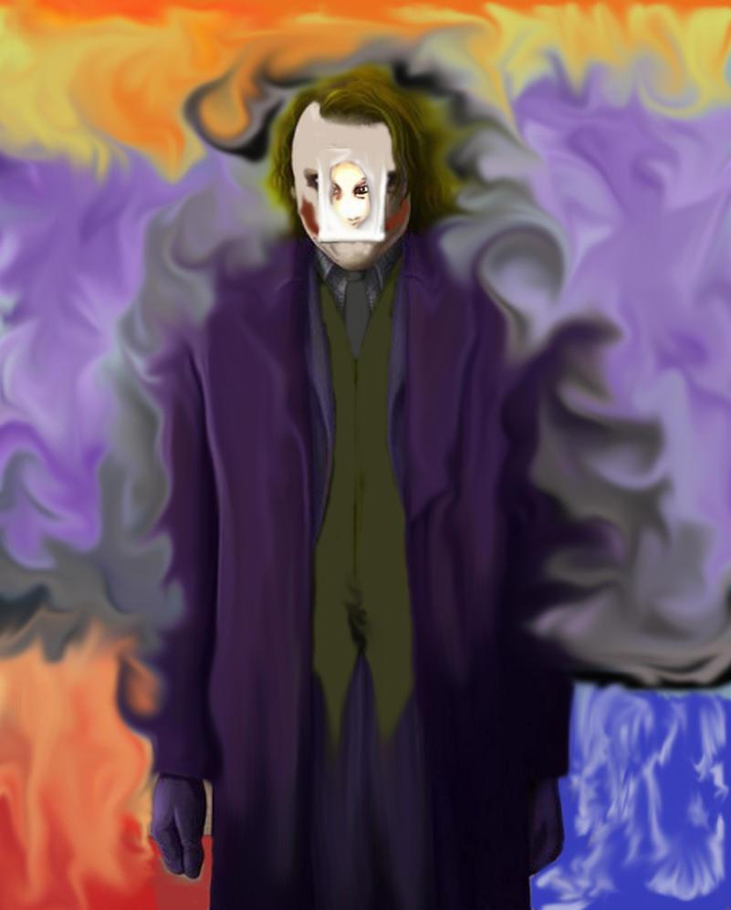 The joker- my version by Ryuzaki129