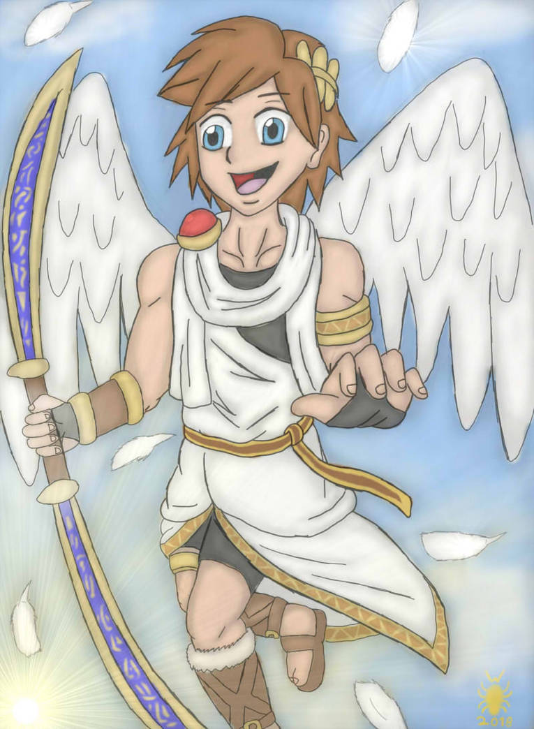 A Happy Little Angel Pit Happy Birthday Hukkis By We5ku On Deviantart