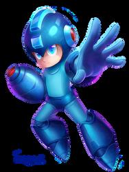 Mega Man by Scarvii