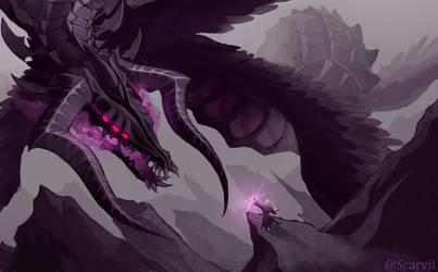 Wings of Despair by Scarvii
