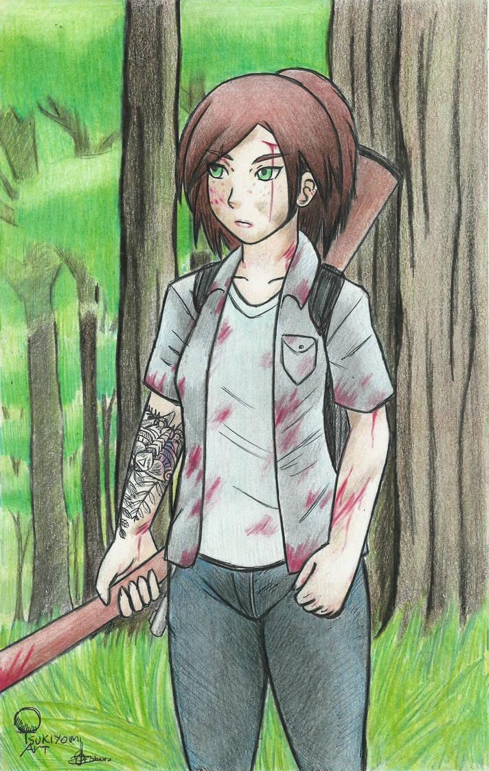 Ellie The Last Of Us 2 by Fenrir7777