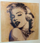 Marilyn Monroe by jarbid