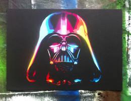 The Rainbow Sith Lord Darth Vader by jarbid