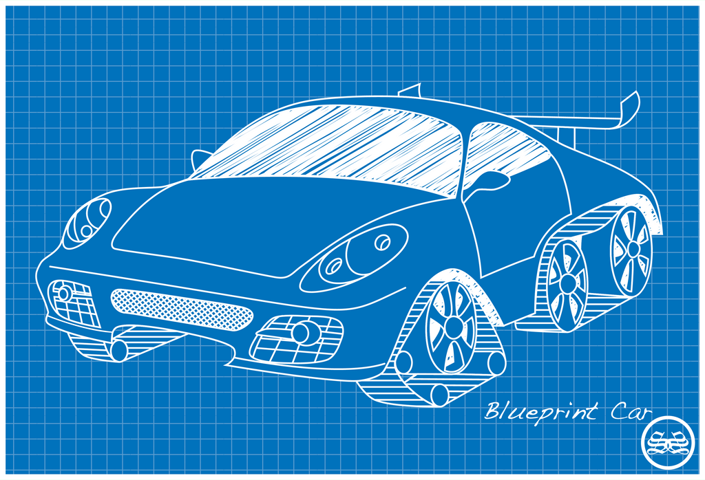 Blueprint car by sane52 on deviantart blueprint car by sane52 malvernweather