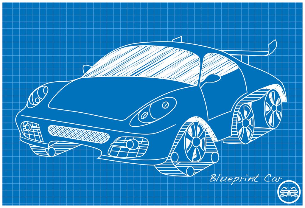 Blueprint car by sane52 on deviantart blueprint car by sane52 malvernweather Gallery