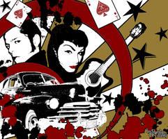 Rockabilly Graffiti by DEDGIRL72
